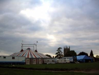 The Big Top in Long Melford